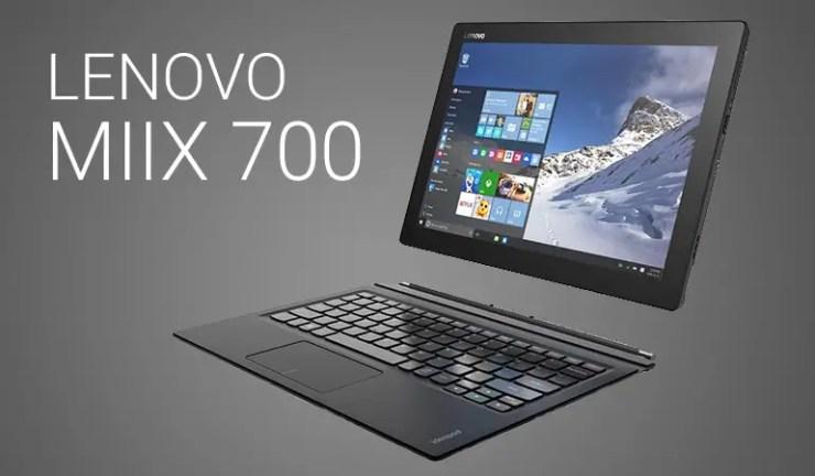 Lenovo MIIX 700 jetzt auf Lager
