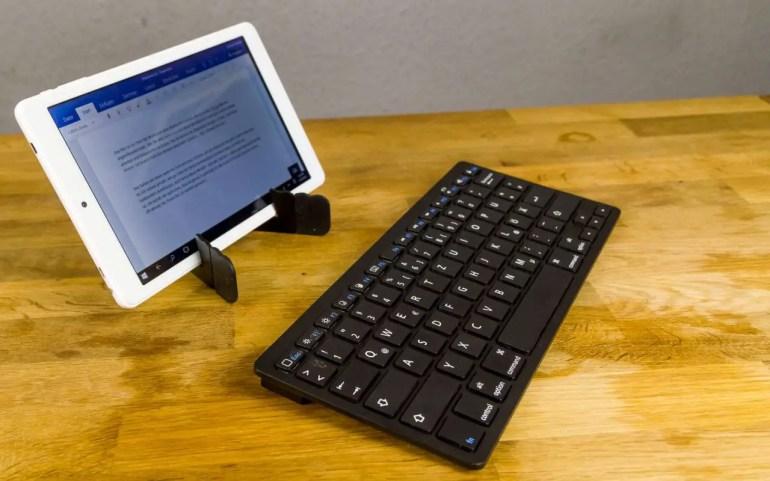 Teclast X80 Plus mit Tastatur