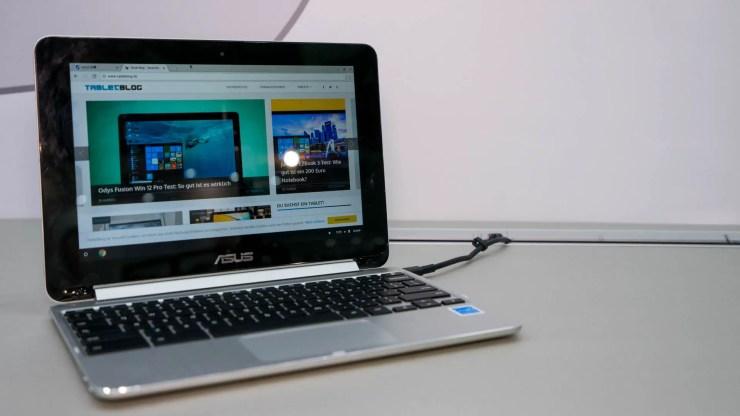 ASUS Chromebook Flip C101 Hands On
