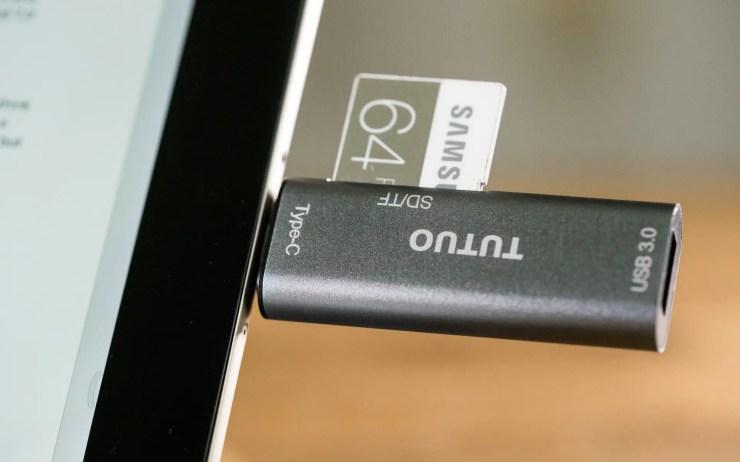 Xiaomi Mi Pad 3 mit USB Typ C Adapter