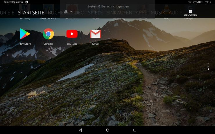 Amazon Fire HD 10 Play Store Anleitung