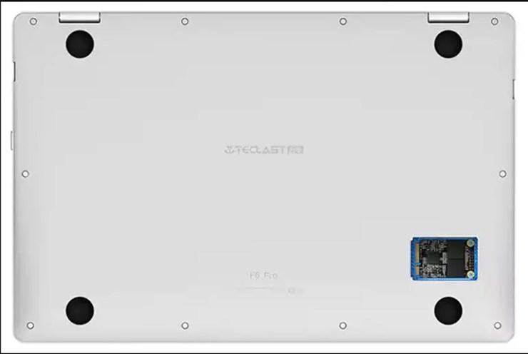 Teclast F6 Pro SSD Slot