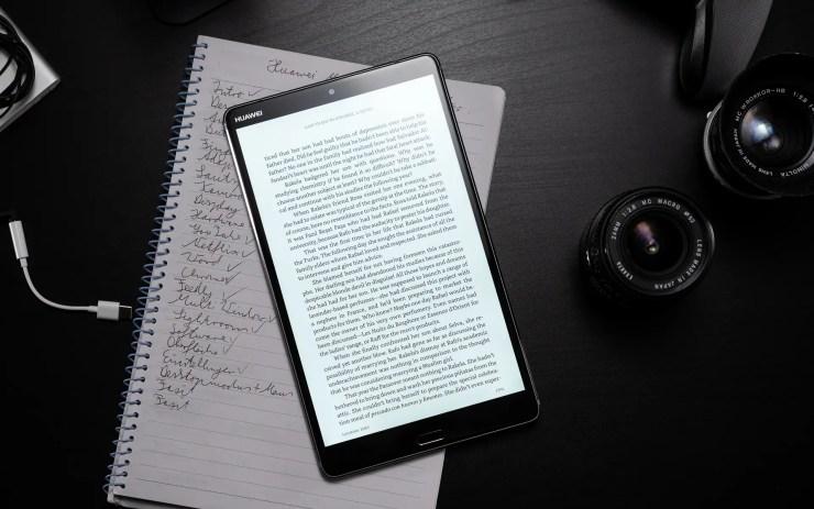 Huawei MediaPad M5 8 mit Amazon Kindle