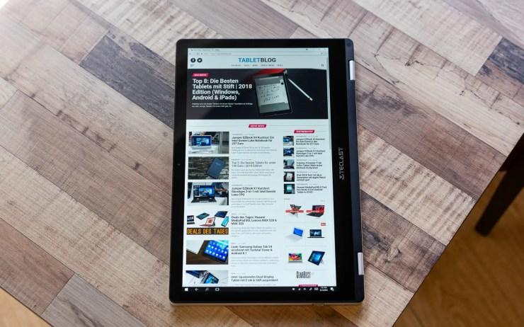 Teclast F6 Pro mit TabletBlog
