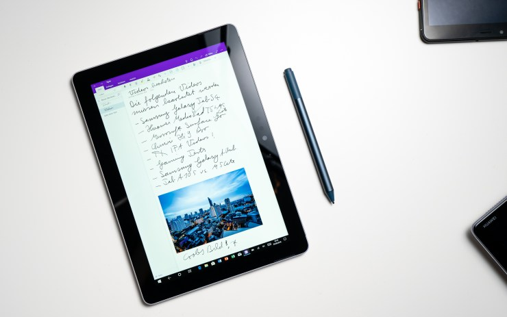 Microsoft Surface Go mit Stylus