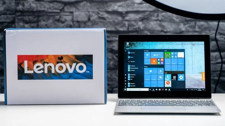 Lenovo IdeaPad D330 Unboxing