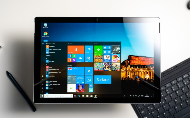 Microsoft Surface Pro 6 Display