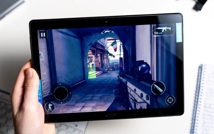Lenovo Tab P10 im Gaming Test