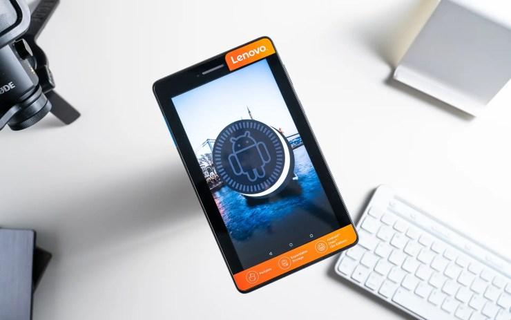 Lenovo Tab E7 mit Android 8 Go