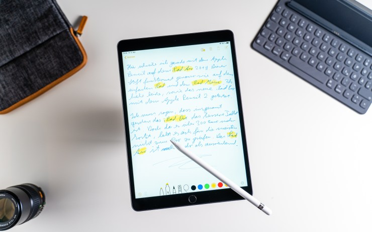 iPad Air 2019 mit Apple Pencil