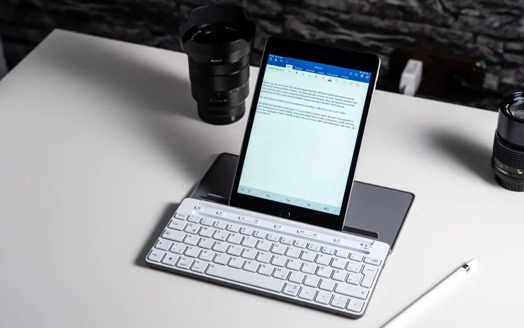 iPad Mini 2019 mit Tastatur