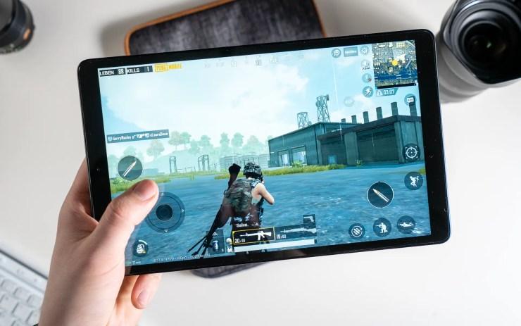 Samsung Galaxy Tab A 10 2019 mit PUBG Mobile