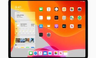 iPadOS Homescreen