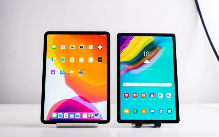 Samsung Galaxy Tab S5e vs. iPad Pro