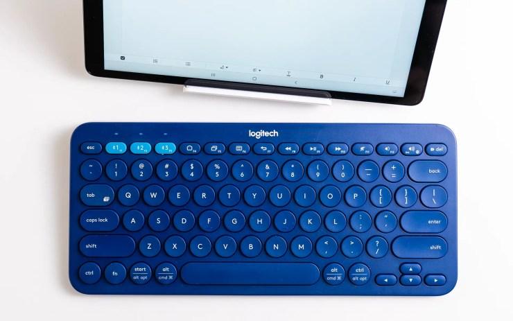 Logitech K380 mit Galaxy Tab A 10.1