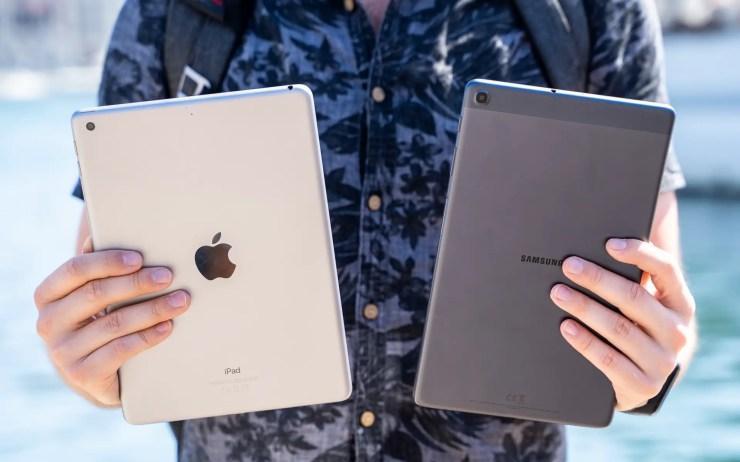 iPad vs Galaxy Tab A 2019 Verarbeitung