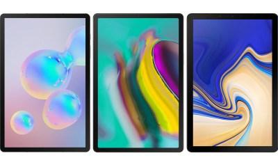 Samsung Galaxy Tab S6 vs S5e vs S4 Vergleich