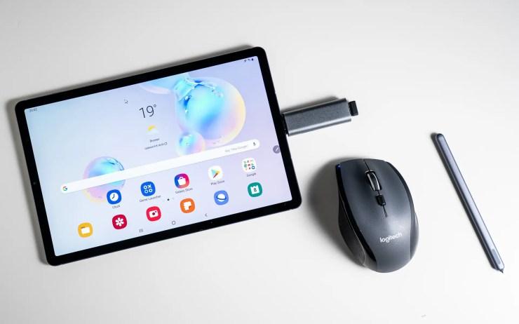 Samsung Galaxy Tab S6 Logitech M705