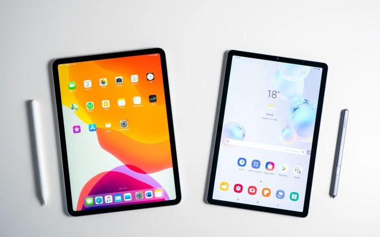 Samsung Galaxy Tab S6 vs iPad Pro Tablet Vergleich