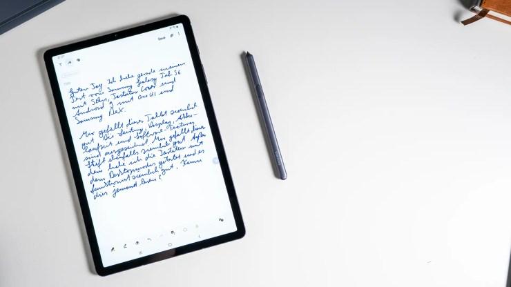 Samsung Galaxy Tab S6 mit S Pen Stylus