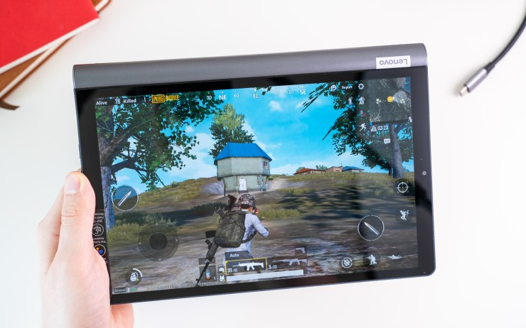 Lenovo Yoga Smart Tab Spiele Test