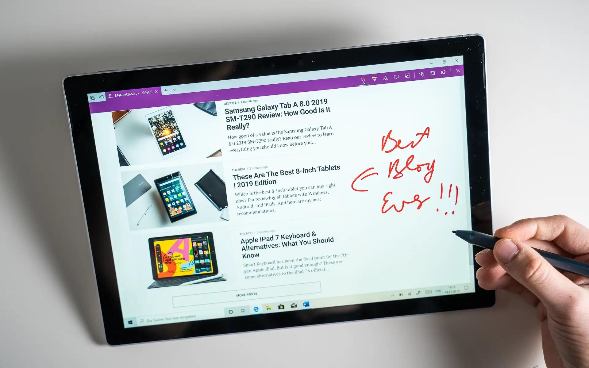 Microsoft Surface Pro Die besten Apps für den Surface Pen ...