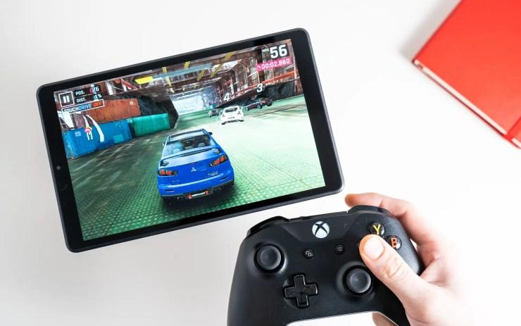 Lenovo Tab M8 HD Spiele Test