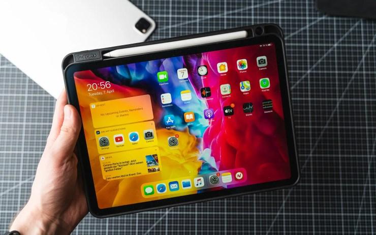 iPad Pro mit Case
