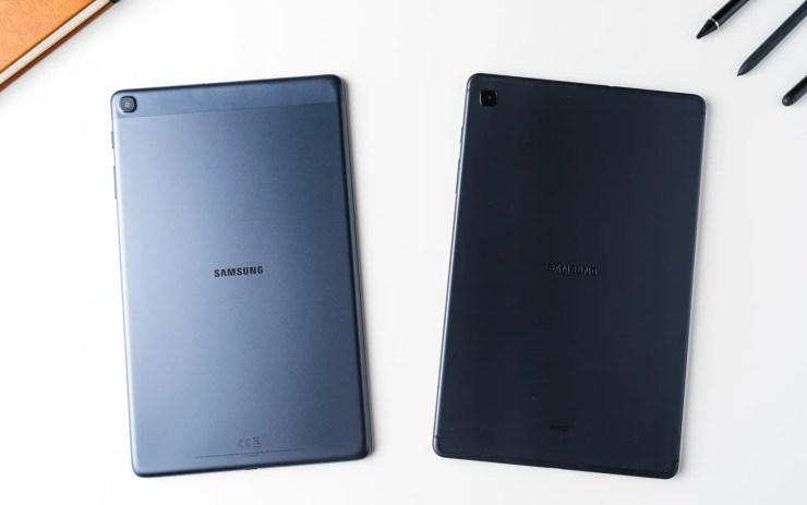 Samsung Galaxy Tab S6 Lite VS Tab A 10.1 Vergleich Design
