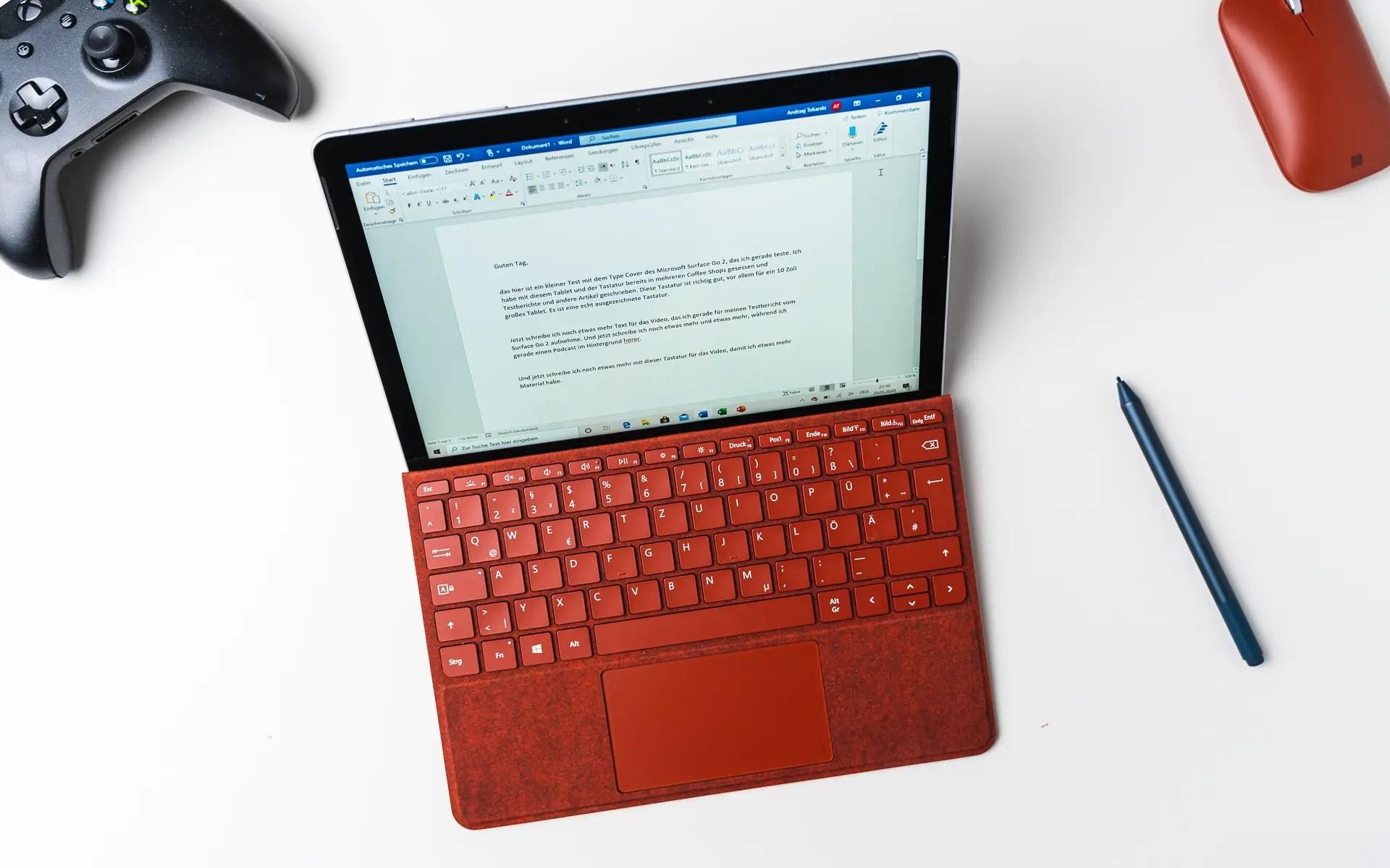 Microsoft Surface Go 20 Test Das perfekte OneNote Tablet   Tablet Blog