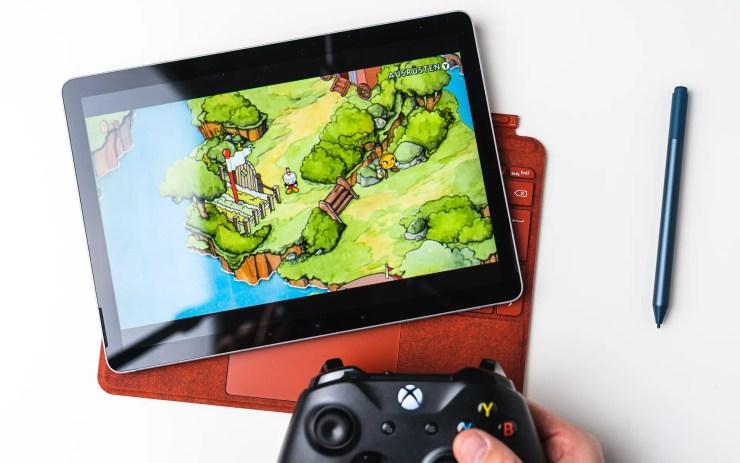 Microsoft Surface Go 2 Spiele Test