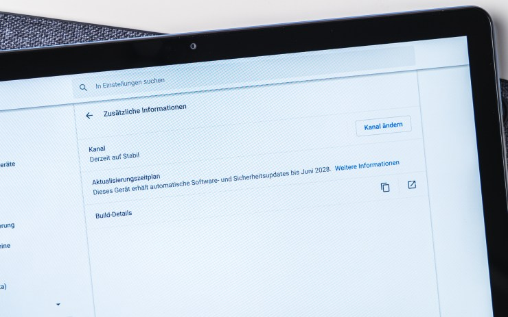 Lenovo Duet Chromebook Chrome OS Updates