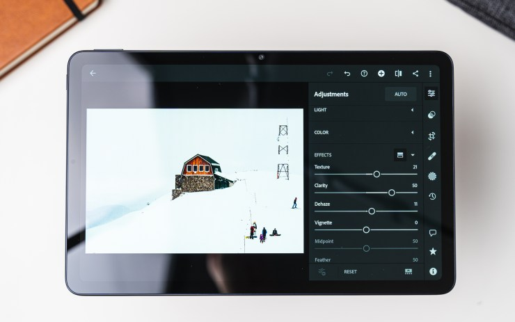 Huawei MatePad 10.4 mit Lightroom
