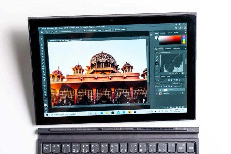 Lenovo IdeaPad Duet 3i mit Photoshop