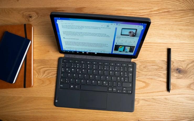 Lenovo Tab P11 mit Tastatur