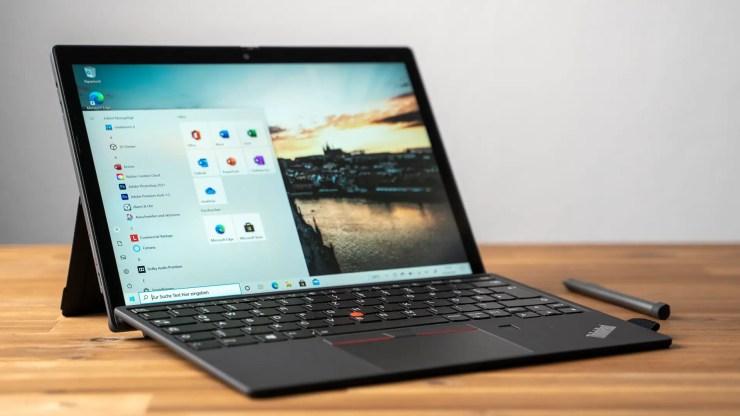 Lenovo ThinkPad X12 Detachable Test