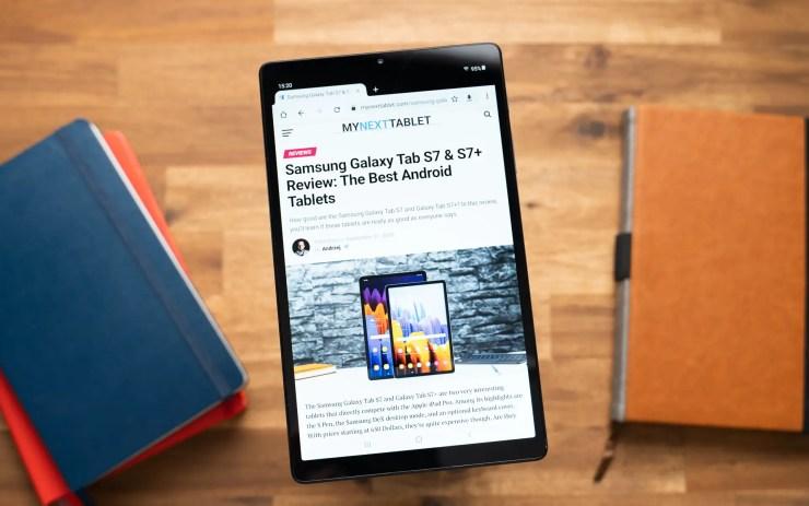 Samsung Galaxy Tab A7 Lite Display