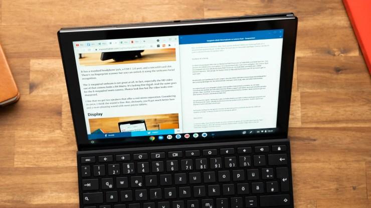ASUS Chromebook CM3 Multitasking