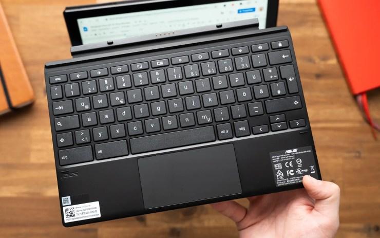 ASUS Chromebook CM3 Tastatur