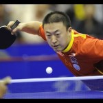 How to play table tennis block