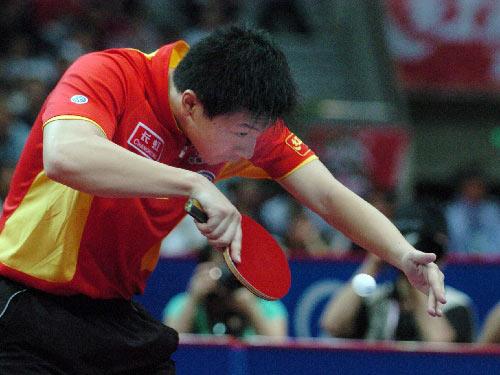 Table Tennis Backhand Serve