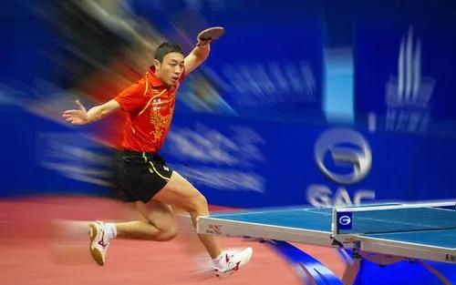 footwork in table tennis of xuxin