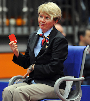 Yellow Card and Red Cards in Table Tennis
