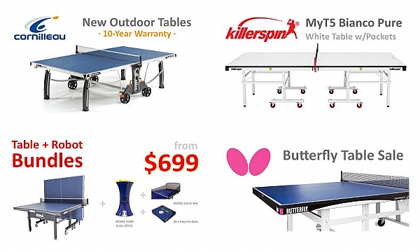 Ping pong table height standard - Table tennis table size and specifications ...