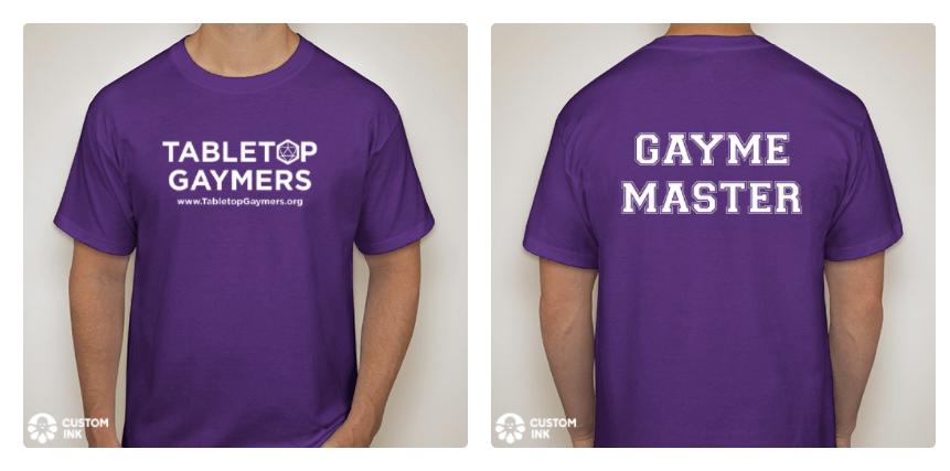 GAYME MASTER Tee-Shirt