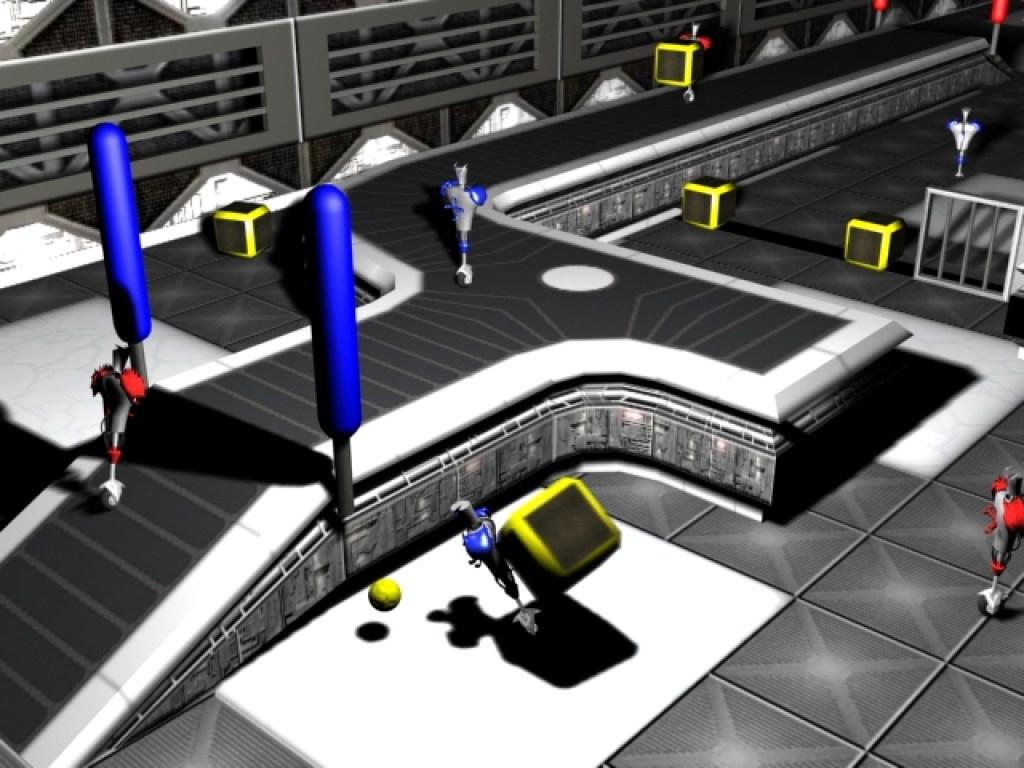 CBC demo level in 3DS Max.