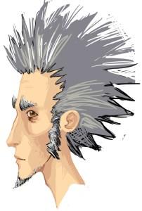 Jean Pignon hair