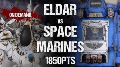 Winters SEO Collaboration ITC Battle Report: Eldar vs Space Marines 1850pts