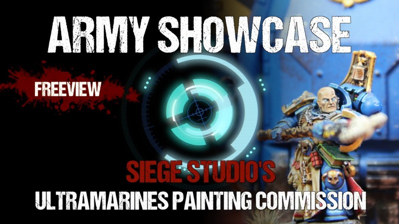 Army Showcase: Studio Ultramarines Army Commission by Siege Studios
