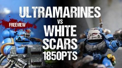 Winters SEO Collaboration 40k Battle Report: Ultramarines vs White Scars 1850pts